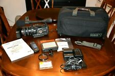 Video Camera Outfit, Canon XHA1 with Bag & Accessories