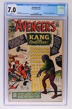 Avengers #8 - Marvel 1964 CGC 7.0 1st Appearance of Kang the Conqueror.
