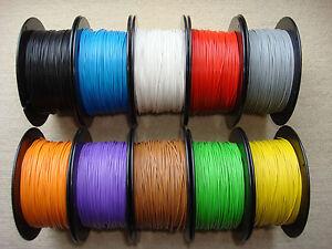 100m Kabel Litze Schaltlitze Kupferlitze flexibel 0,14 mm² freie Farbwahl -001