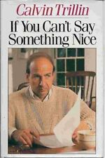 If You Cant Say Something Nice