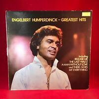 Engelbert Humperdinck Greatest Hits 1980 UK Vinyl LP EXCELLENT CONDITION B best