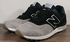 NEW BALANCE 576 Men's Size 9 M576PKG MADE IN ENGLAND Black/Grey Sneakers Shoes