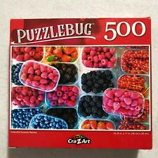 New Colorful Mix Summer Berries Blackberry Raspberry Fruit 500pcs Jigsaw Puzzle