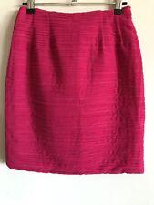 Lisa Ho Skirt Short Hot Pink Size 8