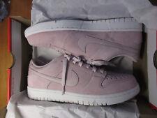 179ffc0af15 Nike Dunk Low 904234 603 PINK Red White Mens Size 9.5 Deadstock Jordan Suede
