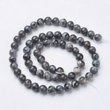 30pcs x 6mm Norwegian Labradorite Natural, Round beads
