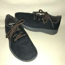 NEW! Allbirds Women's 6 Charcoal Grey Wool Runners Lace Up Athliesure  Sneakers