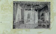Pan-American Expo. Oliver Bros Co. Crystal Bed Made Of Cut Glass & Silver P78
