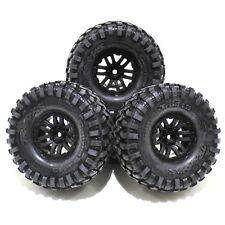 Traxxas TRX-4 Land Rover Defender 1.9 Canyon Trail Tires 12mm Black Wheels