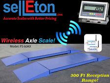 NEW Industrial 60,000 lb x 5 lb capacity Axle Truck Scale Wireless 300 ft Range