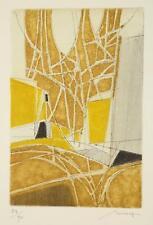 Bernard Munch. 3 colored, embossed etchings. Lot 346