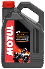 MOTUL Aceite lubricante 4T 7100 10W40 4T 4L