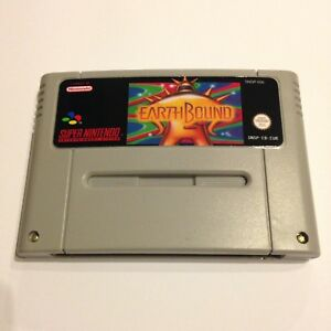 Earthbound SNES Super Nintendo Video Game PAL version