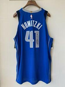 Dirk Nowitzki Dallas Mavericks Signed Autographed Authentic Jersey Fanatics COA