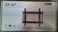 "New,Interion - Flush Wall Mount for 23"" to 42"" TVs, Profile 1.6"", VESA compliant"