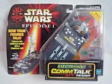 Star Wars episodio 1/lector electrónico CommTalk/Commtech Chip 1999/Sellado