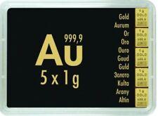5 g UNZ/PRF) Unzirkuliert/Prägefrisch (Edelmetalle Münzen auf