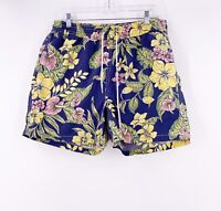 Polo Ralph Lauren Mens Swim Trunks Size Large Floral Hawaiian Inseam 4.5""