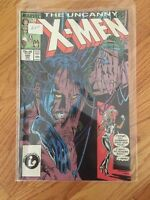 THE UNCANNY X-MEN #220-229 (10 Issue Run) Marvel