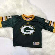 Green Bay Packers NFL Team Rare Throwback Jersey Kids 3T 21