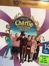 Charlie and the Chocolate Factory 10th Anniversary Blu-ray Depp Tim Burton