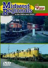 Midwest Regionals in the 1980's and 1990's DVD NEW CVision C&NW MR DM&E GB&W
