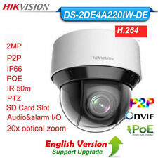 HIKVISION DS-2DE4A220IW-DE 2MP IP Camera 20X Optical Zoom PTZ IR 50m PoE US Ship