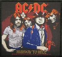 "AC/DC AUFNÄHER / PATCH # 41 ""HIGHWAY TO HELL"""