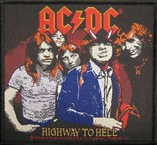 """AC/DC AUFNÄHER / PATCH # 41 """"HIGHWAY TO HELL"""""""