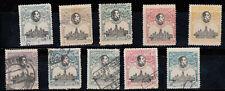 1920 EDIFIL 297/306 NUEVOS CON CHARNELA Y USADOS. VII CONGRESO UPU (220)