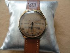 Rare and Unusual Russian Paketa Mechanical Wind Up Vintage Men's Watch