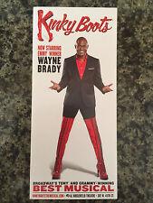 Wayne Brady in Kinky Boots  Musical ad/flyer Broadway Rare