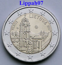 Litouwen speciale 2 euro 2017 Vilnius UNC