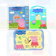 Peppa Pig Activity Set, 3 Books Collection (Peppa Pig Busy Pack, Carry pack) NEW