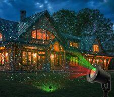 Proiettore Laser Luci Esterno Luci Rosse Verdi Natale Fantasia Addobbi dfh