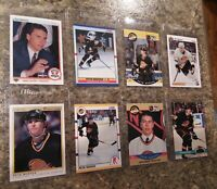 (8) Petr Nedved 1990-91 OPC Premier Upper Score Pro Rookie card lot RC Rangers