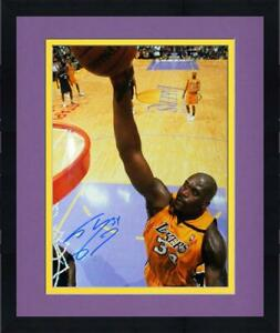 Framed Shaquille O'Neal Lakers Jersey Signed 16x20 Photo - Fanatics