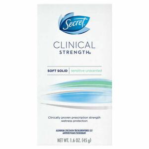 Secret Clinical Strength Antiperspirant Soft Solid Sensitive 1.6 Oz