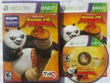 Microsoft Xbox 360 Kinect Kung Fu Panda 2 Videospiel komplett VERSANDKOSTENFREI