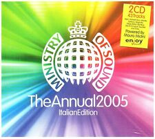 MINISTRY OF SOUND - THE ANNUAL 2005 - ITALIAN EDITION  - 2CD (NUOVO SIGILLATO)