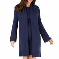 MICHAEL KORS Women's Wool Blend Open-front Long Cardigan Sweater TEDO