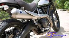 Ducati Scrambler Desert Sled High Level Race Line Termignoni Exhaust End Can