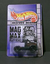"Custom HotWheels and package of  War Boy Rig  ""Movie Metal""   MAD MAX  FURY ROAD"