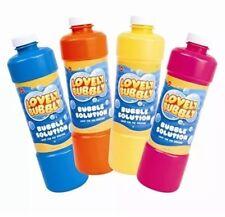 Soluzione Liquido Bolle Pre Misto bottiglia di riempimento macchina delle bolle PISTOLA spara 945 ML