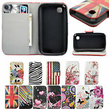 Phone Premium Leather Wallet Pocket Stand Full Cover Case For LG Mobile Phone