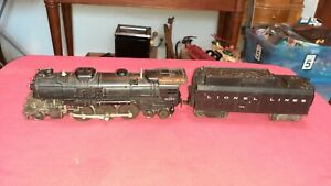 Lionel 2037 Steam Engine With 234W Whistle Tender