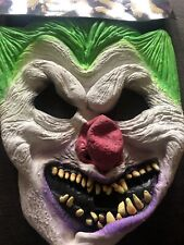 Job Lot 25 X Scary Clown Halloween Mask New Free Postage