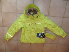 veste blouson  ski poivre blanc anis neuve avec étiquettes taille L