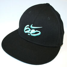 NIKE 6.0 Skate Fitted Black Embroidered Baseball Cap S-M Wool Blend RRP: £25