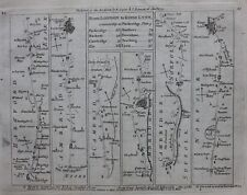 Original antique map, CAMBRIDGESHIRE, NORFOLK, WORCESTERSHIRE, Jefferys, 1775